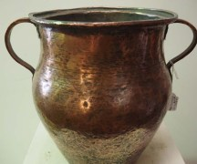 Antique Ottoman Copper Vessel Metal Homewares