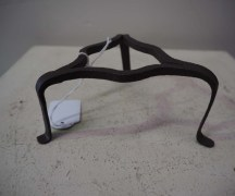 Antique homewares iron trivet