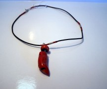 Turkish Jewellery Coral & Silver Necklace