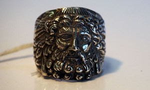 """""""Zeus"""" Fine sterling silver ring"""