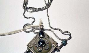 Turkoman Silver Necklace