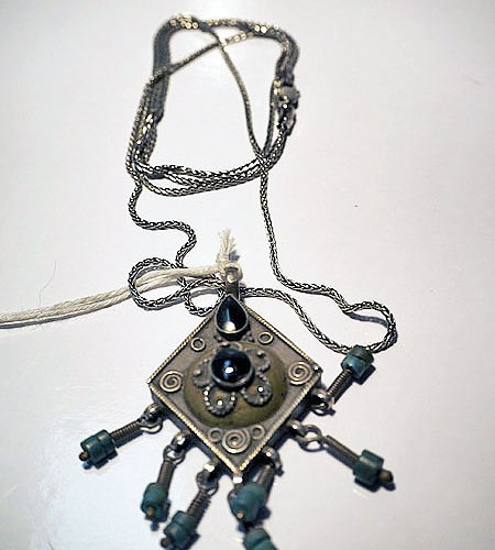 Turkoman Silver Necklace
