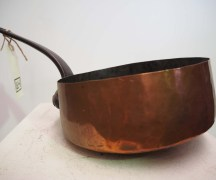 19th century copper sauce pan
