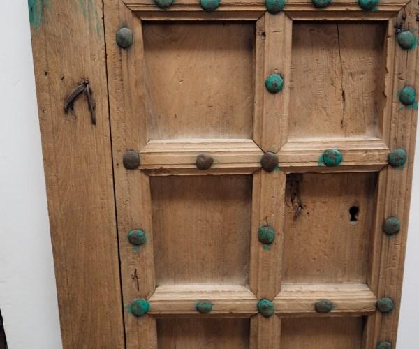 Antique Ottoman Period Armenian chestnut door, 18th Century