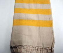 Hand loomed Turkish cotton Shawl