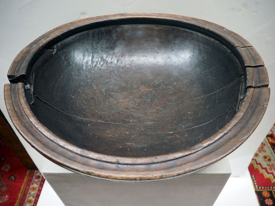 Ottoman period elm bowl
