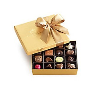 Otto's Granary Assorted Chocolate Gold Gift Box with Ribbon, 19 pc.