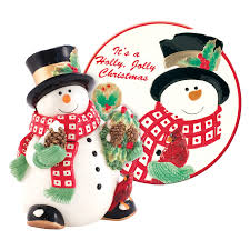 Holly Berry Snowman