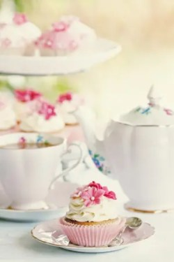 Tea Party Cups and Treats