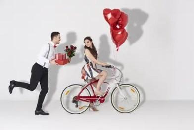 Couple Celebrating a Romantic Valentine's Day