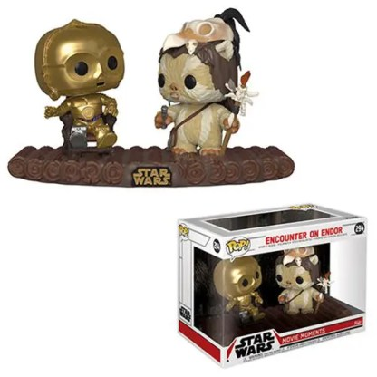 Otto's Granary Star Wars Return of the Jedi C-3PO on Throne Pop! Vinyl Movie Moment #294 POP! Bobblehead