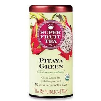 Otto's Granary Organic Pitaya Green Superfruit Tea by The Republic of Tea