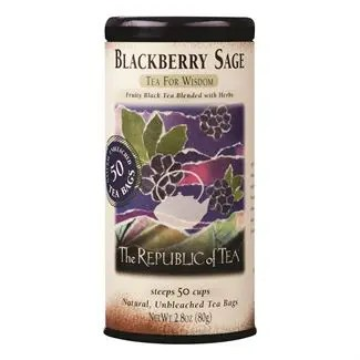Otto's Granary Blackberry Sage Black Tea by The Republic of Tea