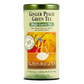 Otto's Granary Daily Green Ginger Peach Green Tea by The Republic of Tea