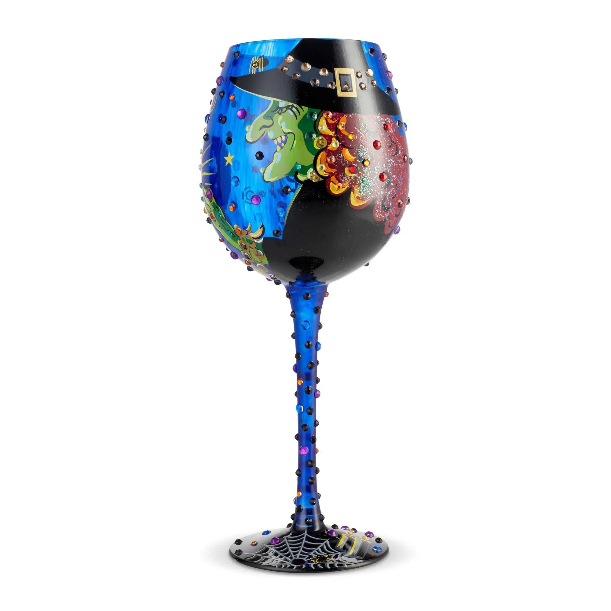 fd9b98fa7e1 Bling Cast a Spell 22oz. Wine Glass by Lolita 6004428
