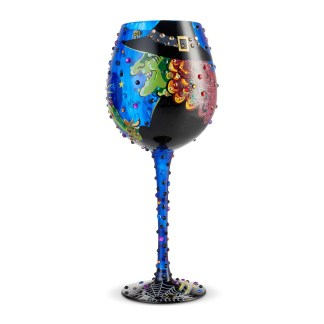 Bling Cast a Spell 22oz. Wine Glass by Lolita 6004428
