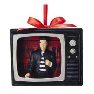 Otto's Granary Elvis Presley Jailhouse Rock TV Ornament