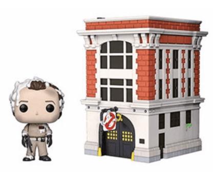Ghostbusters Peter Venkman with House #03 Pop! Vinyl Figure Movie Moments