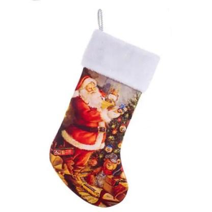Lionel Santa 19-Inch Stocking