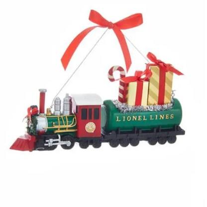 Otto's Granary Lionel Train Blow Mold Ornament