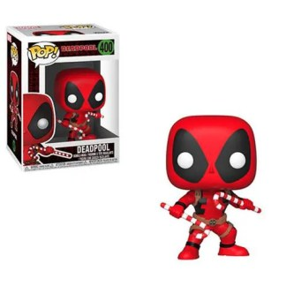 Marvel Holiday Deadpool with Candy Canes #400 Pop! Vinyl Figure
