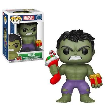 Marvel Holiday Hulk with Presents #398 Pop! Vinyl Figure
