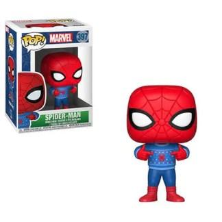 Marvel Holiday Spider-Man Ugly Sweater #397 Pop! Vinyl Figure