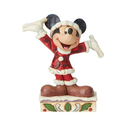 Mickey Christmas Personality - Disney Traditions by Jim Shore 6002842