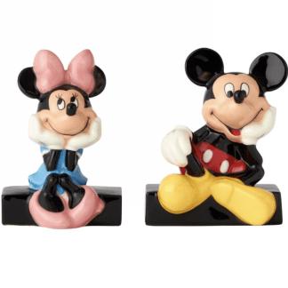 Mickey & Minnie Salt & Pepper by Disney Ceramics 6001013