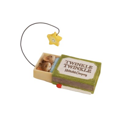 Twinkle Twinkle Mice Figurine - Tails with Heart Mother Goose Collection 6005743