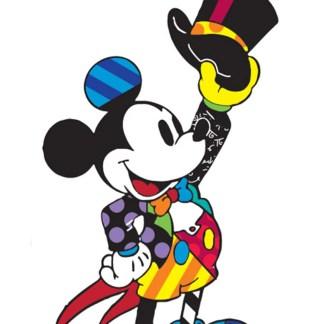 Otto's Granary Top Hat Mickey Mouse Disney by Britto Figurine