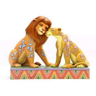 Otto's Granary Lion King Simba and Nala Snuggling by Jim Shore