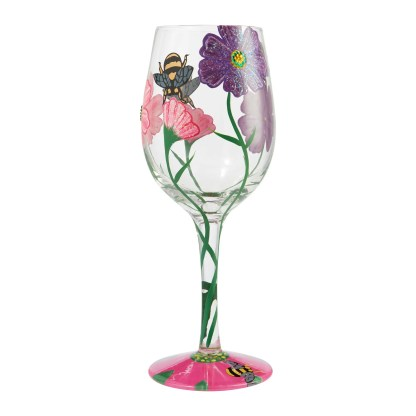 Otto's Granary Copa Glass My Drinking Garden 24oz. Wine Glass by Lolita