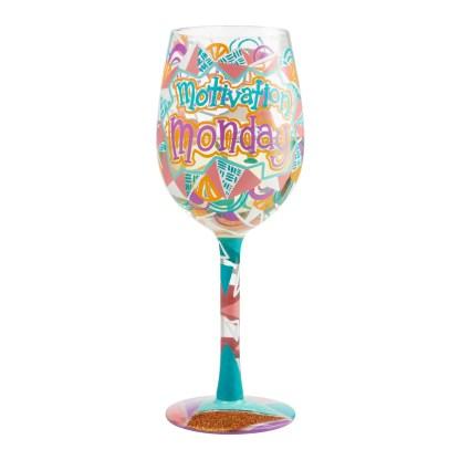 Otto's Granary Motivation Monday Wine Glass by Lolita