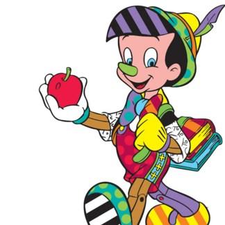Otto's Granary Pinocchio 80th Anniversary Disney by Britto Figurine