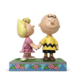 Otto's Granary Peanuts Charlie Brown and Sally by Jim Shore