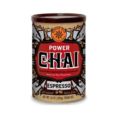 Otto's Granary Power Chai Espresso Can by David Rio
