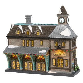 Otto's Granary Lincoln Station by Dept 56