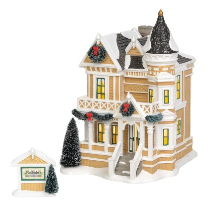 Otto's Granary Queen Anne Revival B&B by Dept 56