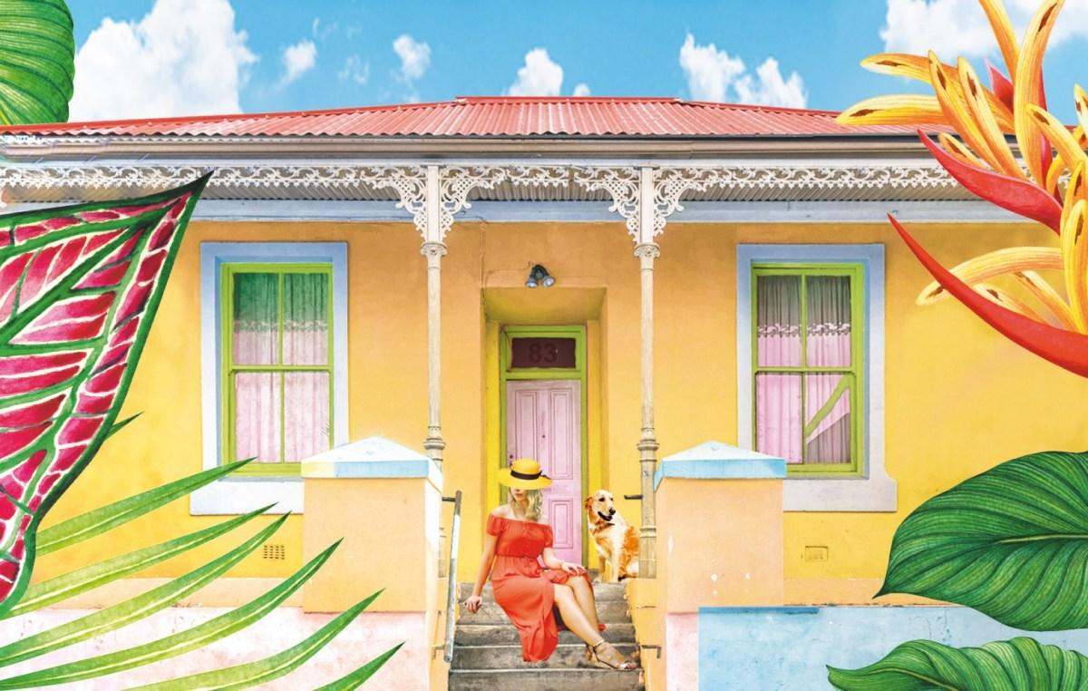 Det lilla galleriet i solen av Marie Sammeli
