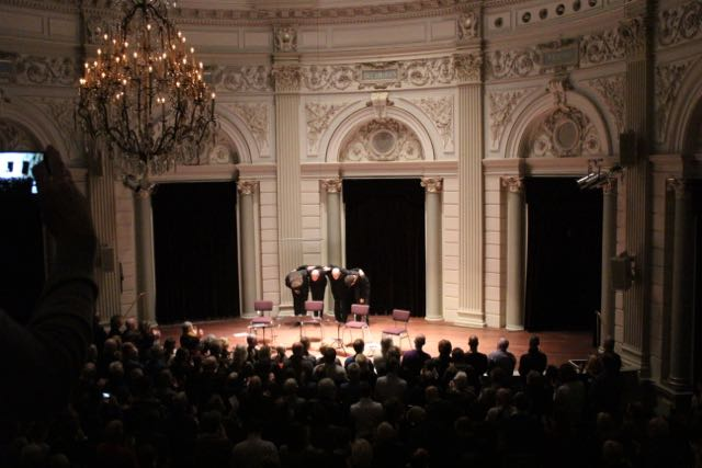 european guitar quartet in concertgebouw