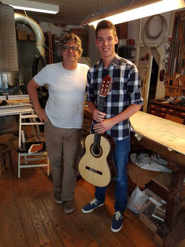 maarten oomes in workshop otto vowinkel