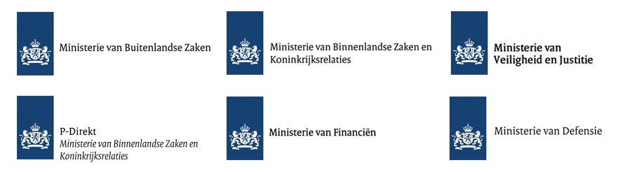 Ministerie van Veiligheid en Justitie, Ministerie van Binnenlandse Zaken, Financien, defensie, overheid