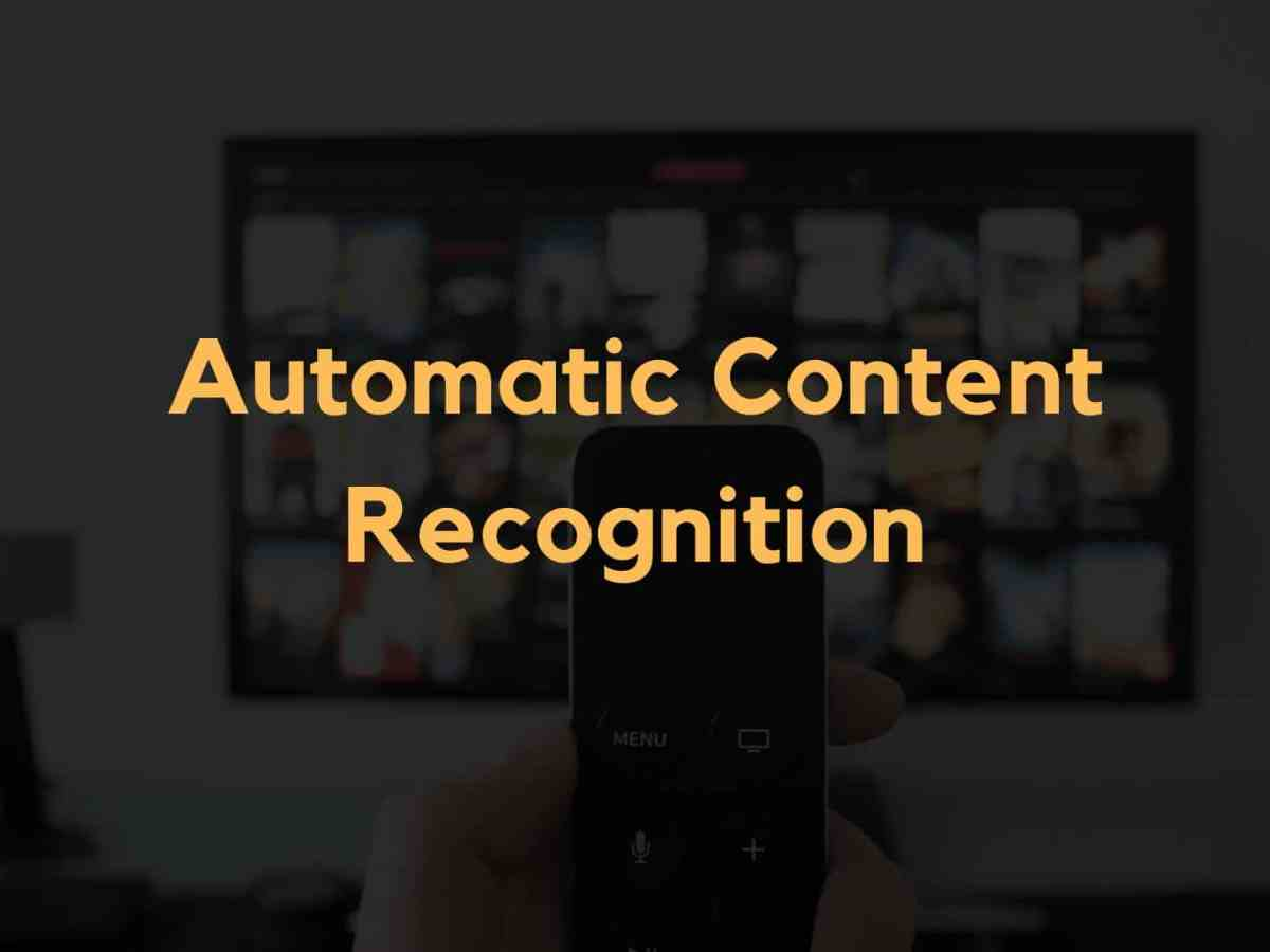 ACR Automatic Content Recognition