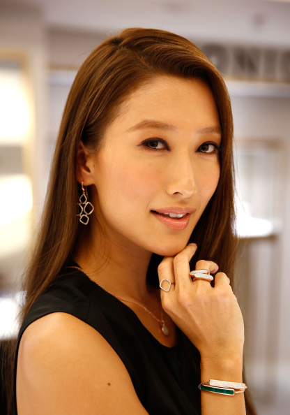 Jennifer Tse Meets Monica Vinader In Harrods, London
