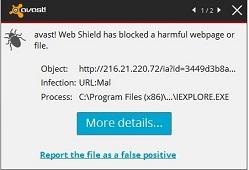 Sitenizde, Bilgisayarınızda Url:Mal Virüsü Uyarısı Çözümü