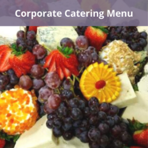 Catering Company - Corporate Events Catering Menu