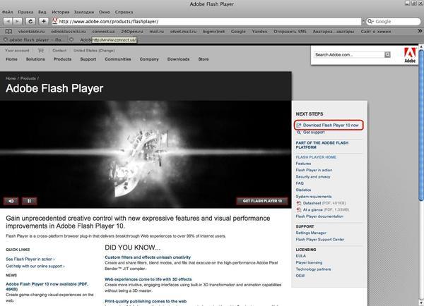 Ответы Mail.ru: Не могу установить Adobe Flash Player в ...