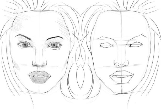 Kuinka oppia piirtämään lyijykynän kasvot