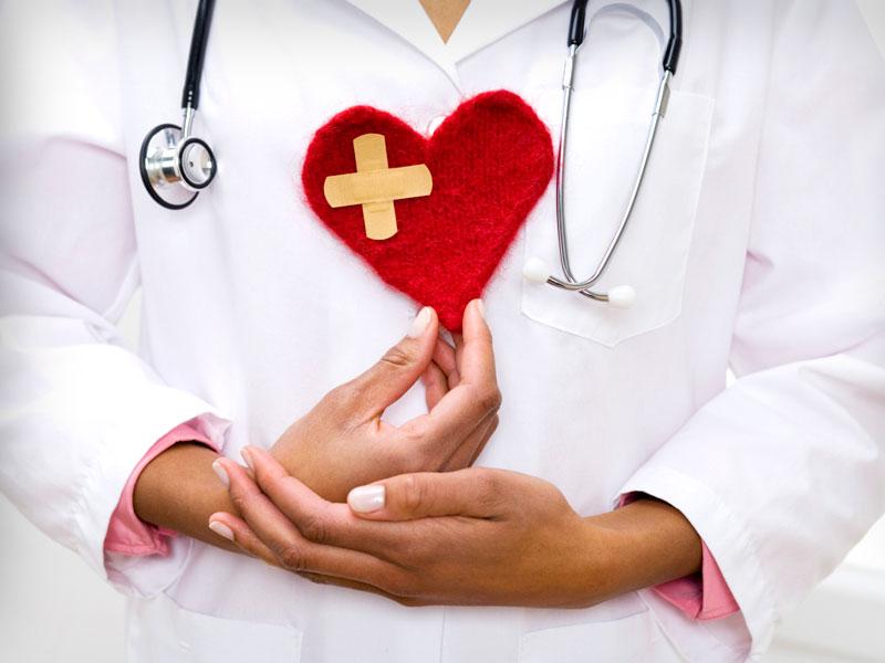Открытка с днем кардиолога, днем